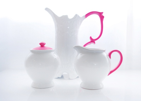 009A DIY neon pottery
