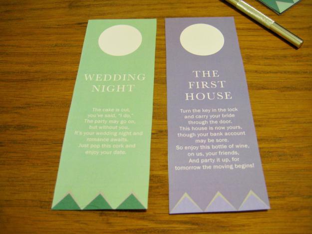 Wine Basket Bridal Shower Gift + Printable Poem Gift Tags - Ultimate ...