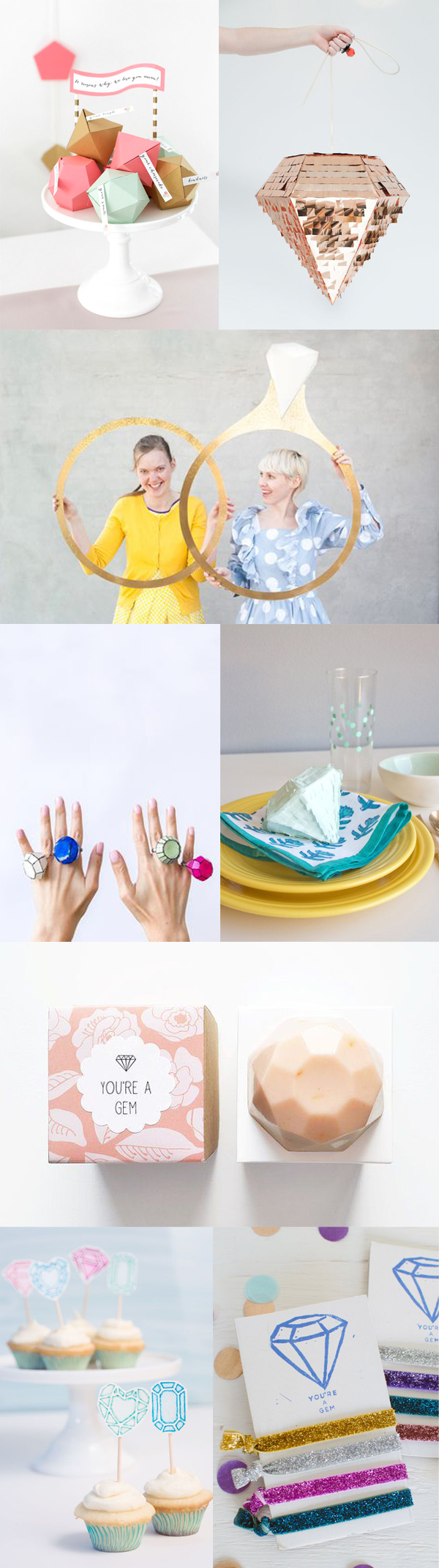 You're A Gem Party Inspiration Board