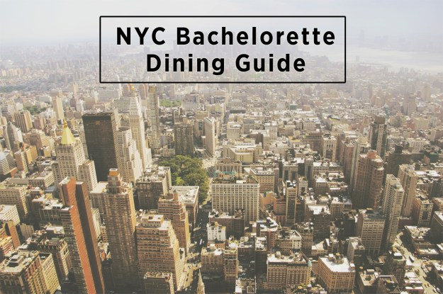 NYC Bachelorette Dining Guide: Where to Eat and Drink in New York City