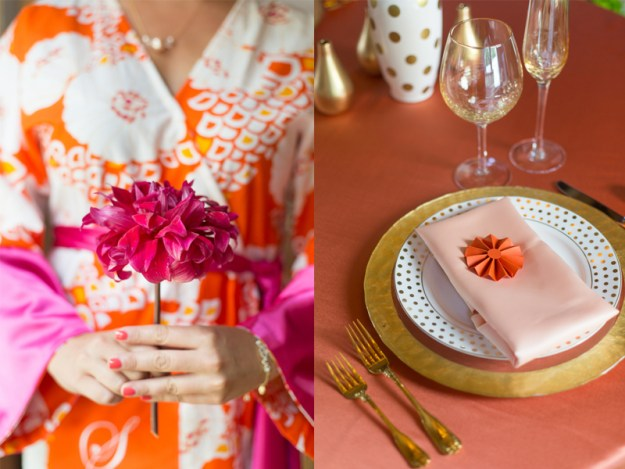 An Orange and Pink Styled Bridal Luncheon | Ultimate Bridesmaid | Samantha Laffoon Photography