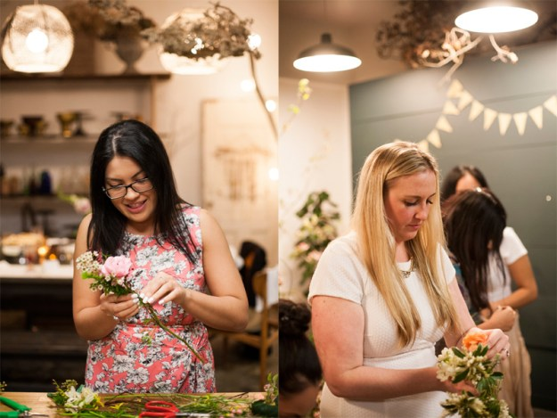 A Floral Crown Crafting Bridal Shower   Ultimate Bridesmaid   Natalie N Photography