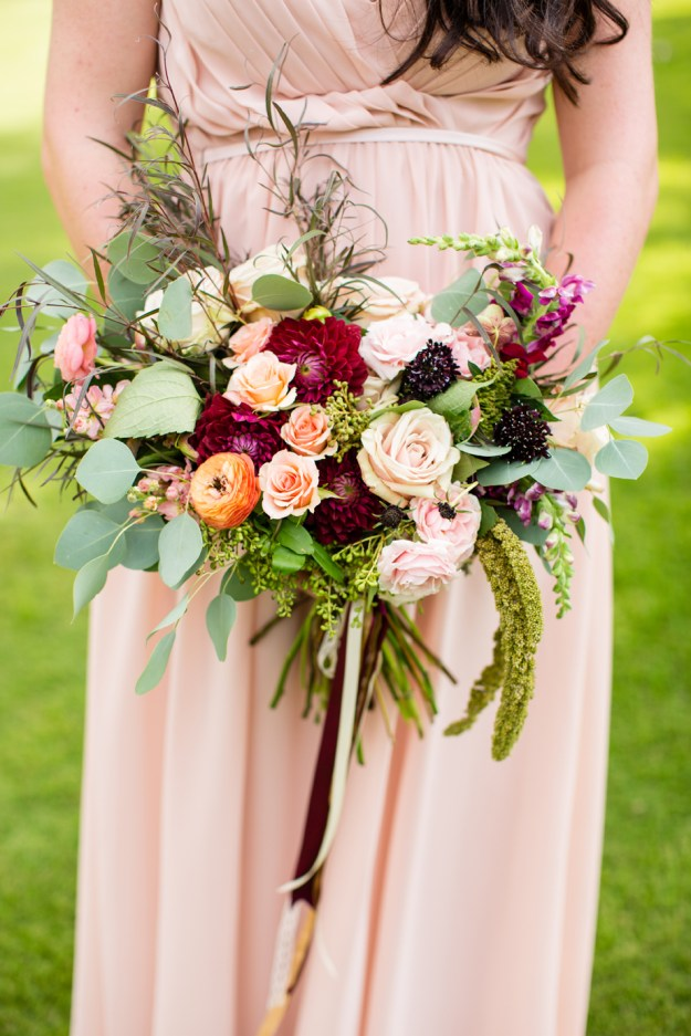 Southern Cranberry Bridesmaid Inspiration Ultimate