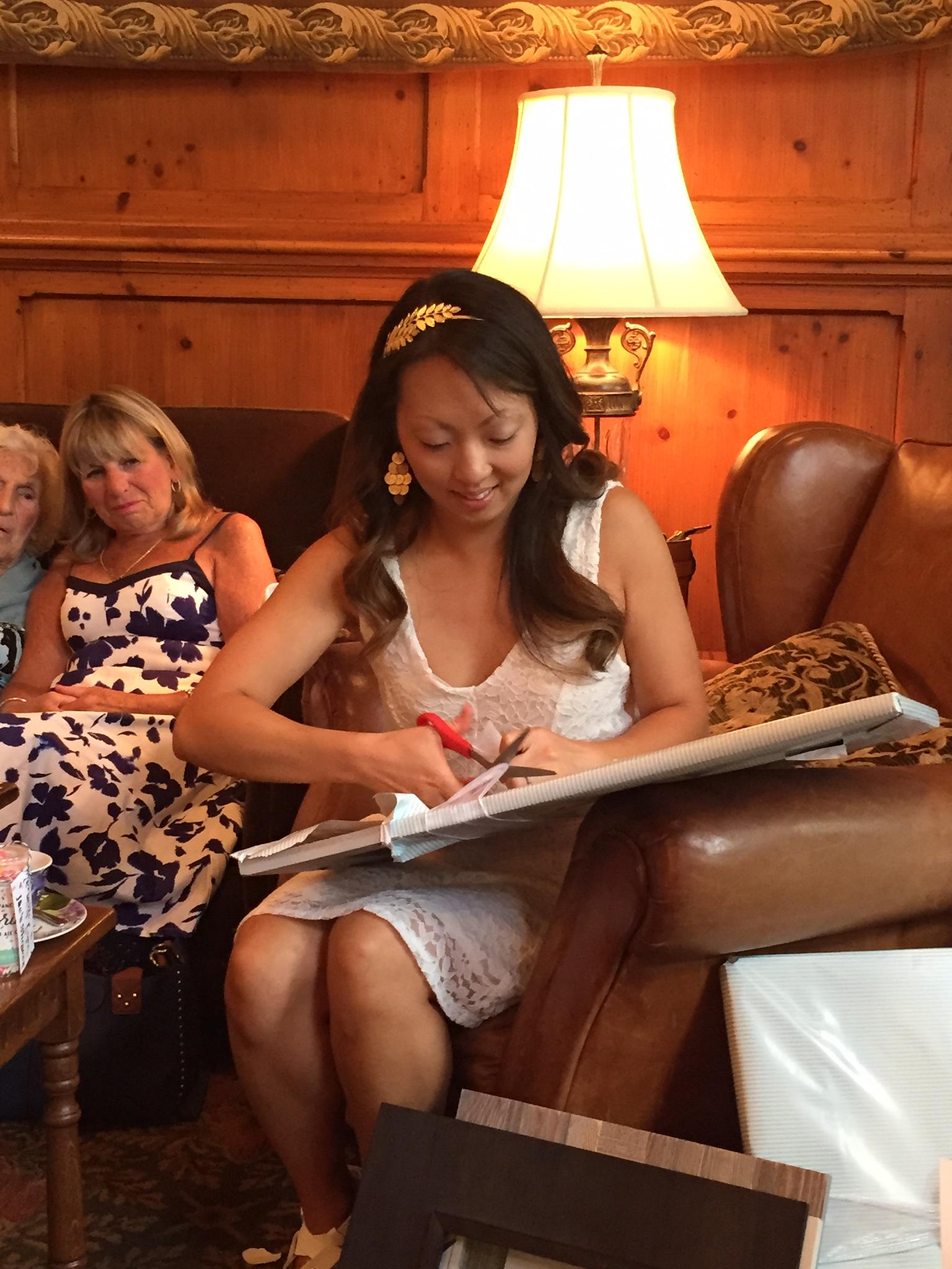 A Spa Day Bachelorette + Tea Party Bridal Shower in North Carolina ...