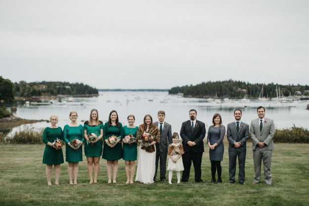 Our Northeast Charm Wedding in Maine | Ultimate Bridesmaid | Brett & Jessica Photography