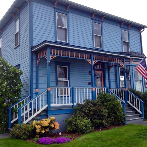 Blue Goose Inn, Coupeville, Whidby Island, Washington