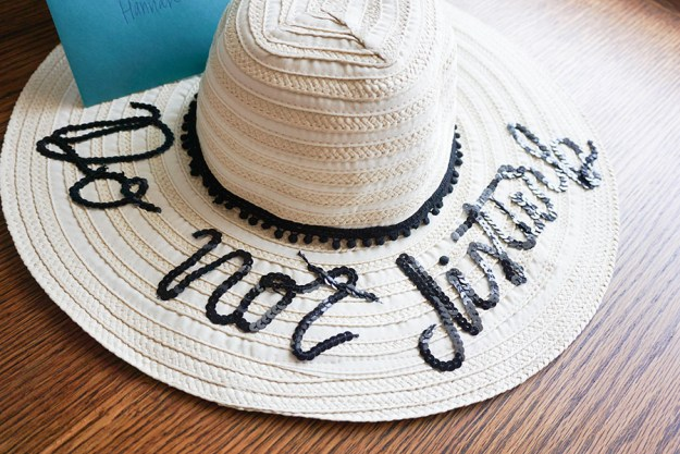 DIY Beach Hats. A Tropical Beach Bachelorette Party | Ultimate Bridesmaid | Love Always, Audrey