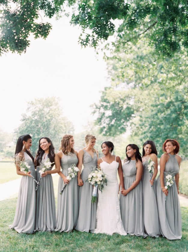 Floor Length Stunner. The Best Bridesmaid Looks: Our 10 Favorite Bridesmaid Trends This Year