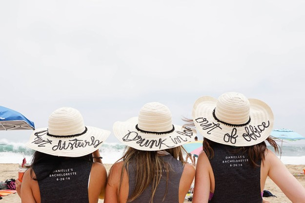 A Tropical Beach Bachelorette Party | Ultimate Bridesmaid | Love Always, Audrey