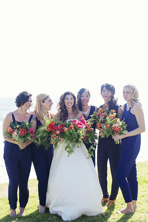 Jumpsuits. The Best Bridesmaid Looks: Our 10 Favorite Bridesmaid Trends This Year