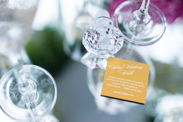 Wine Wishing Well. A Sparkling Greenhouse Bridal Shower | Ultimate Bridesmaid | Delaney Dobson Photography