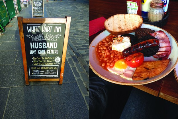 A full Scottish breakfast. Our Honeymoon in Scotland | Ultimate Bridesmaid