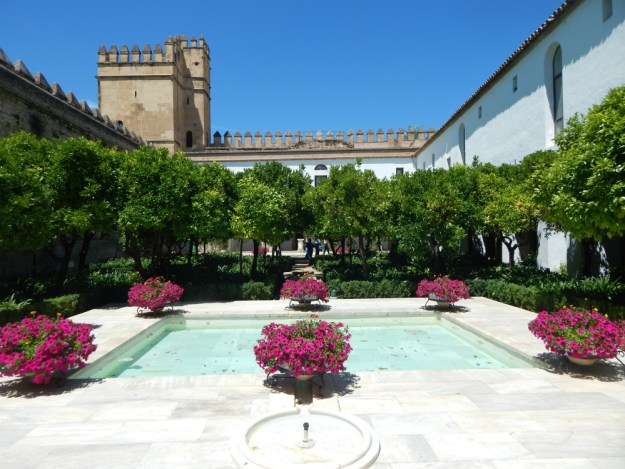 Alcazar de Cordoba, Spain. Click for our travel guide to two days in Cordoba, and our full 10-day trip to Spain!