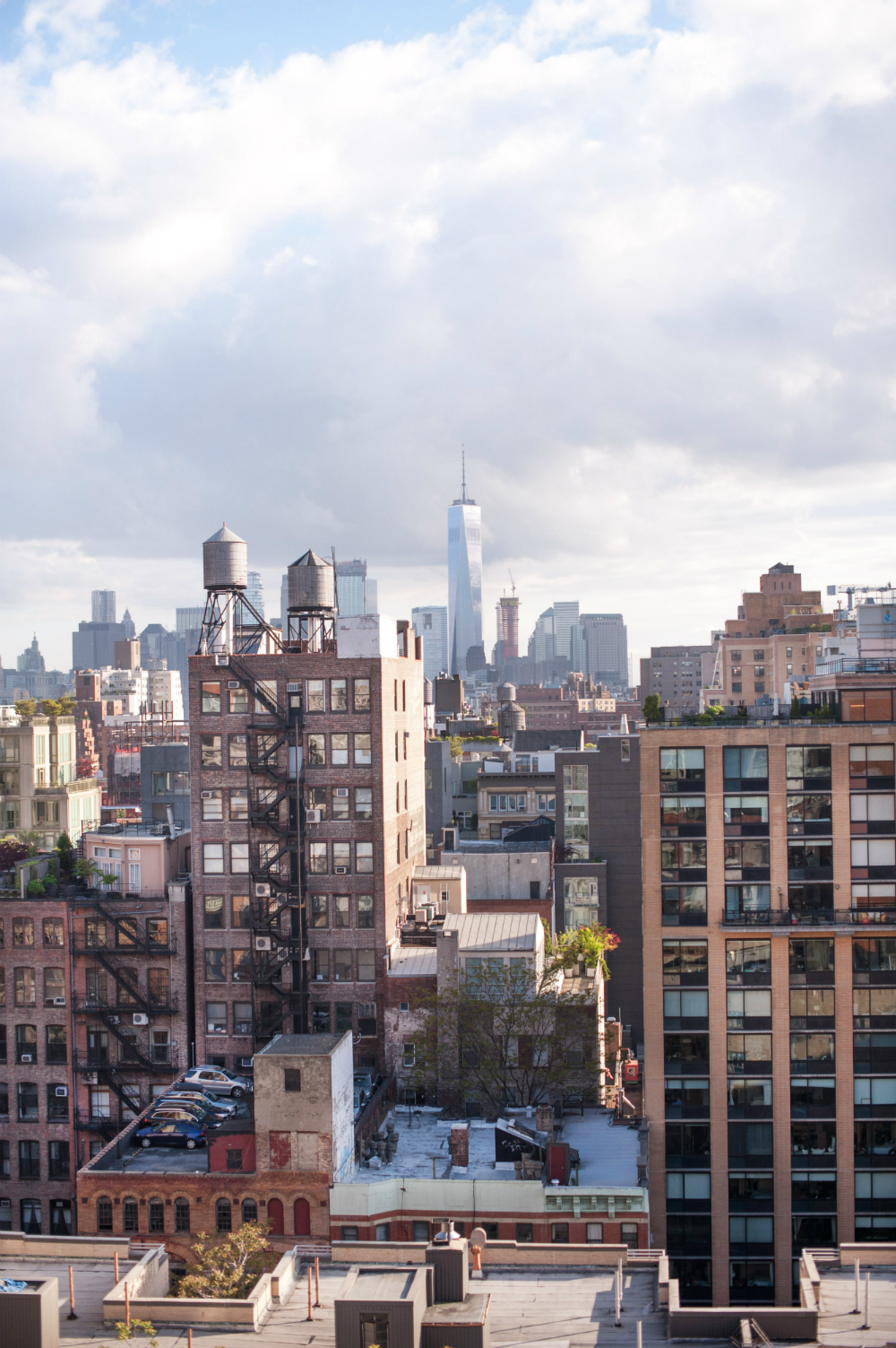 A Rooftop New York Cit...