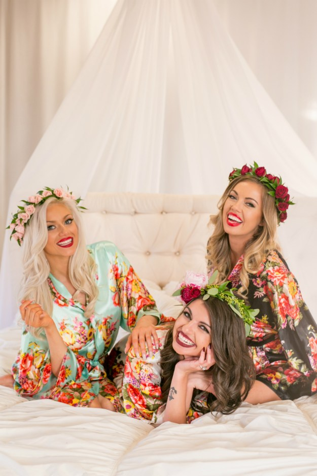 "A ""Find Your Perfect Red"" Boudoir Bachelorette Party 