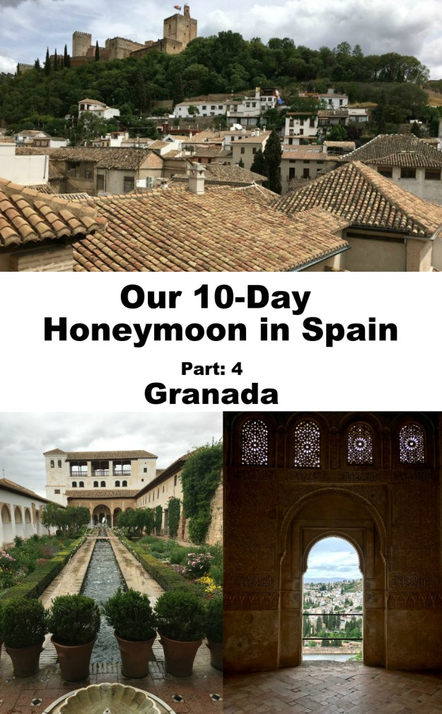 We spent two days in Granada as part of our 10-day honeymoon in Spain. Click to see our full Granada travel guide.