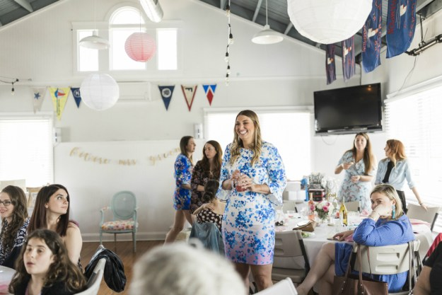 A Yacht Club Nautical Bridal Shower | Ultimate Bridesmaid | Kelly Sea Images