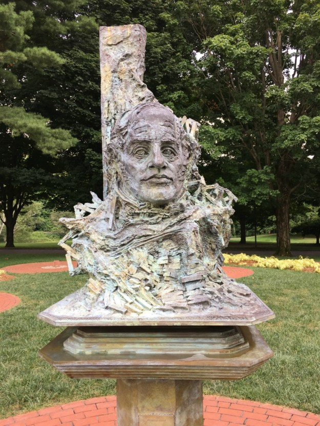 Sculptures of Hudson Valley artists at the Boscobel House and Gardens. Click to see our full guide to a Hudson Valley getaway weekend.