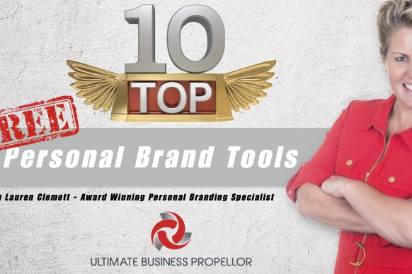 Top Ten Personal Brand Tools