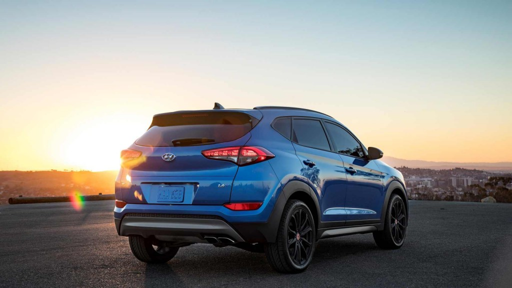 2016 Sema Show 2017 Hyundai Tucson Night Edition Breaks