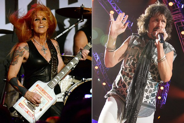 Lita Ford Foreigners Kelly Hansen  Other Rockers to