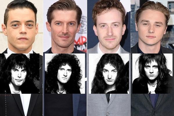 Meet the Actors Who Will Portray Queen in the Upcoming Freddie Mercury Biopic