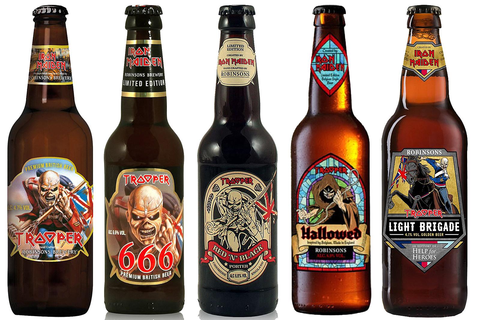 Znalezione obrazy dla zapytania trooper beer