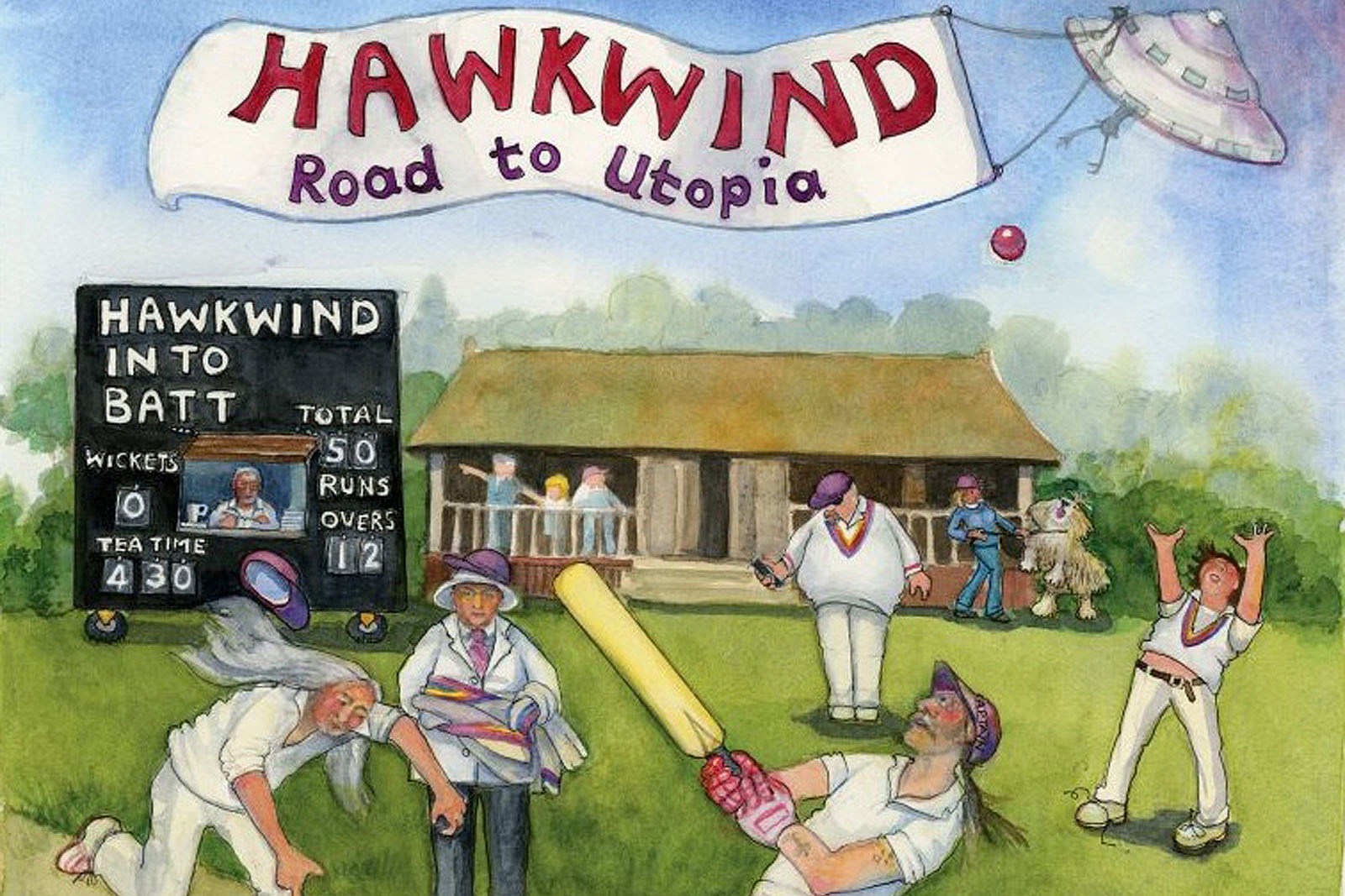 Image result for road to utopia hawkwind