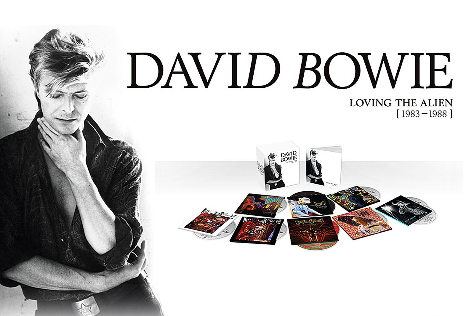 Image result for david bowie loving the alien box set
