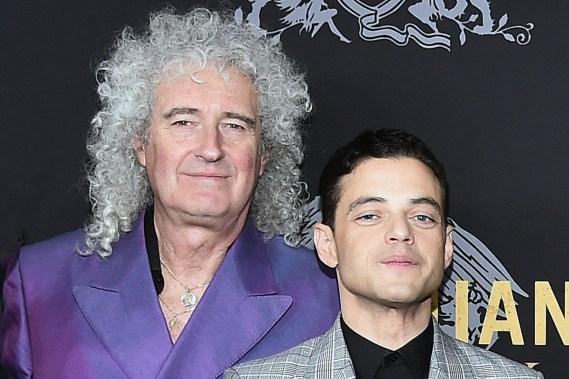 Brian May & Rami Malek