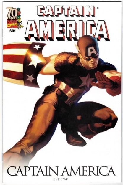 Captain America #601 70th Anniversary Marko Djurdjevic Variant VF/NM