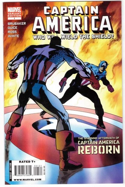 Captain America Who Will Wield The Shield #1 Alan Davis Variant 2009 VF/NM