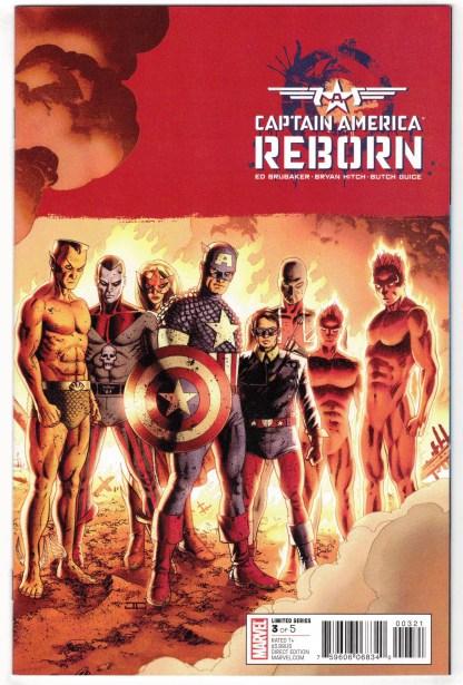 Captain America Reborn #3 1:25 John Cassady Variant Marvel 2009 VF/NM