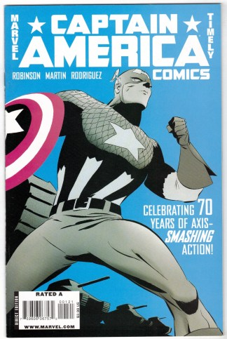 Captain America Comics 70th Anniv Special #1 1:15 Variant Marvel Timely VF/NM