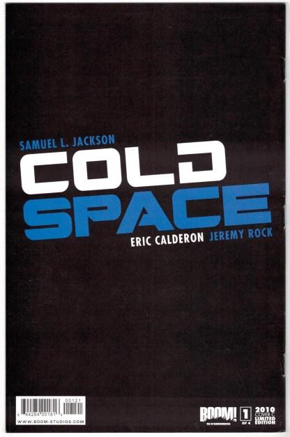 Cold Space #1 Jeffrey Spokes Virgin Variant Boom 2010 Samuel L Jackson VF/NM