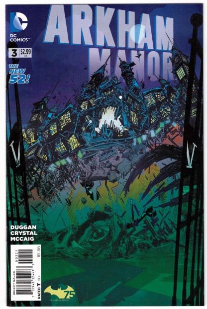 Arkham Manor #3 1:25 Nathan Fox Variant DC 2014 Gerry Duggan VF/NM