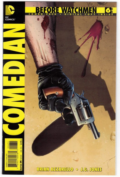 Before Watchmen Comedian #6 Combo Pack Variant UNBAGGED DC 2012 VF/NM