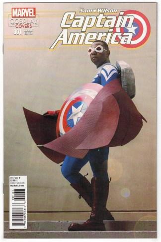 Captain America Sam Wilson #1 1:15 Cosplay Variant Marvel 2015 VF/NM