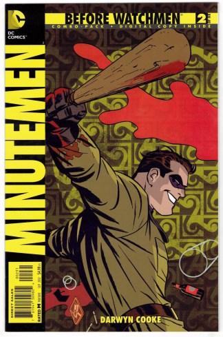 Before Watchmen Minutemen #2 Digital Combo Pack UNBAGGED DC 2012 VF/NM