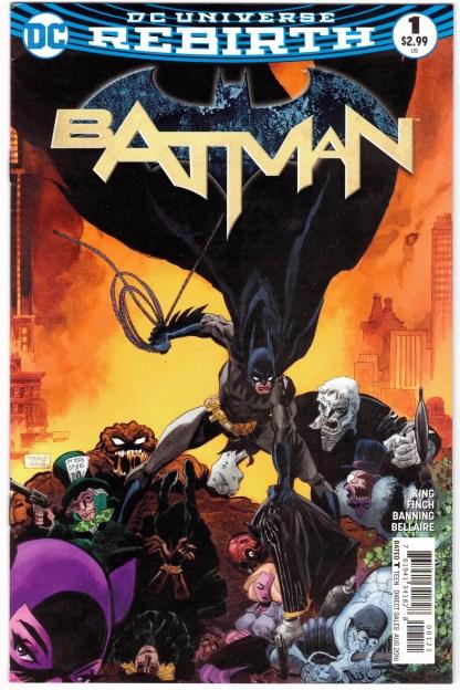Batman #1 Tim Sale Cover B Variant DC Rebirth 2016 VF/NM