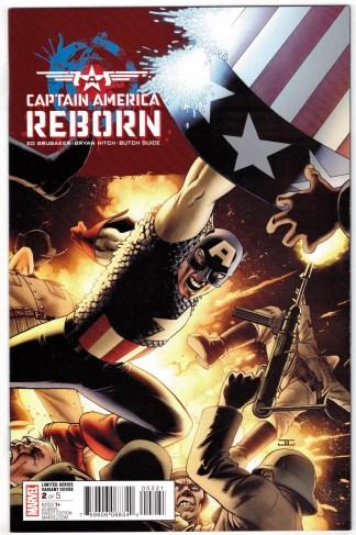Captain America Reborn #2 1:25 John Cassaday Variant Marvel 2009 VF/NM