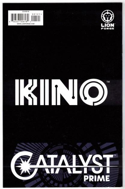 Catalyst Prime Kino #1 1:5 Khary Randolph Variant Lion Forge 2017 VF/NM