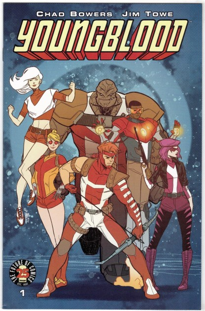 Youngblood #1 Image Comics 25th Anniversary Blind Box Color Variant 2017 VF/NM