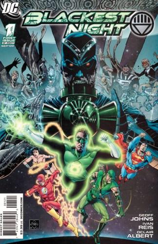 Blackest Night #1 1:25 Ethan Van Sciver Variant DC Green Lantern 2009