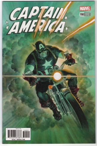 Captain America #700 1:50 Alex Ross Variant Marvel Legacy VF/NM