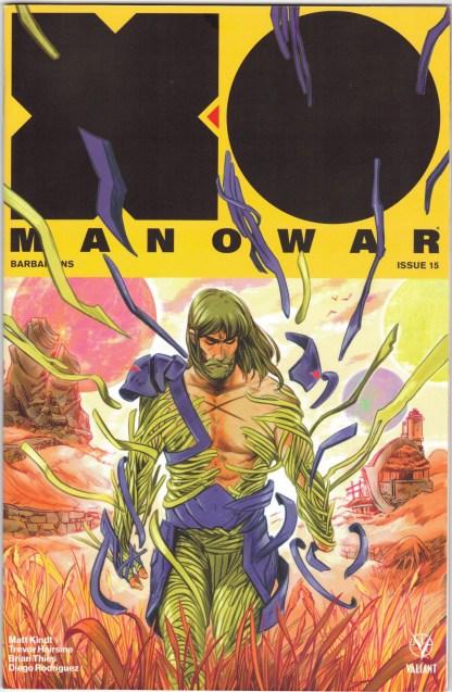 X-O Manowar #15 1:20 Keron Grant Variant Valiant 2017 Matt Kindt VF/NM