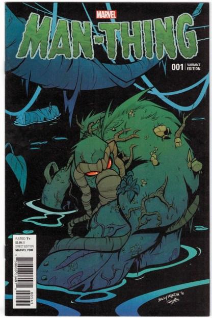 Man-Thing #1 1:25 Billy Martin Swamp Variant Marvel 2016 VF/NM