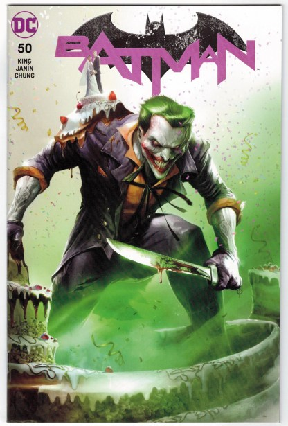 Batman #50 Francesco Mattina Trade Dress Variant Catwoman Wedding Joker VF/NM