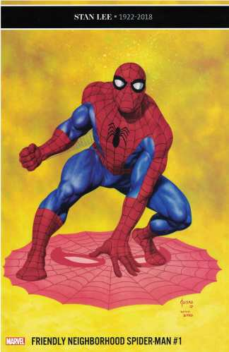 Friendly Neighborhood Spider-Man #1 1:25 Joe Jusko Ditko Variant Marvel 2019