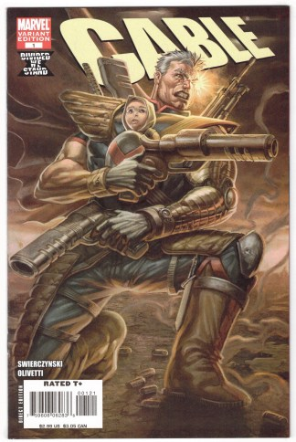 Cable #1 1:20 Rob Liefeld Variant X-Men Hope Divided We Stand 2008 VF/NM